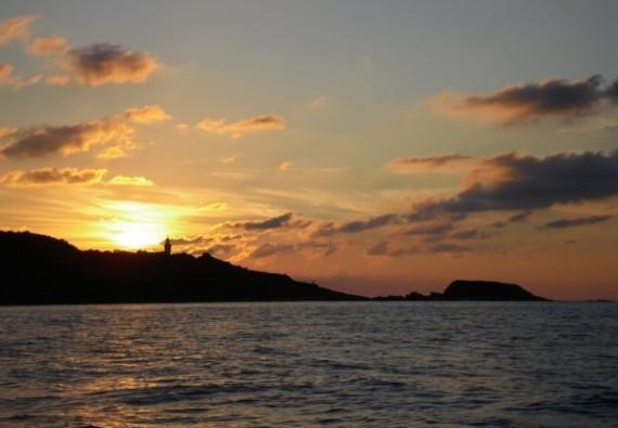 Soirée à bord d'un voilier, profitez du coucher de soleil !