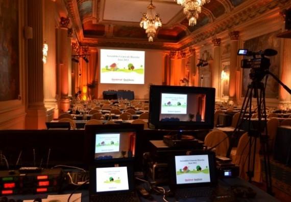 Equipement audiovisuel pour la mise en scène de vos séminaires au Pays Basque