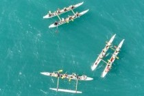 """Un challenge """"pirogues hawaïennes"""", vous êtes bien au Pays Basque !!!"""