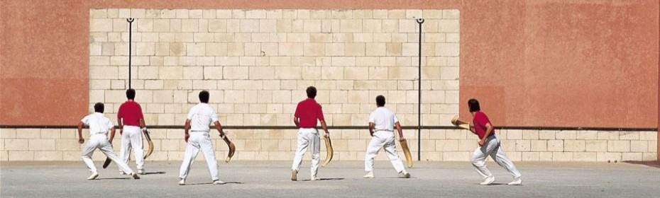 Assistez à une partie de pelote Basque ou participez !