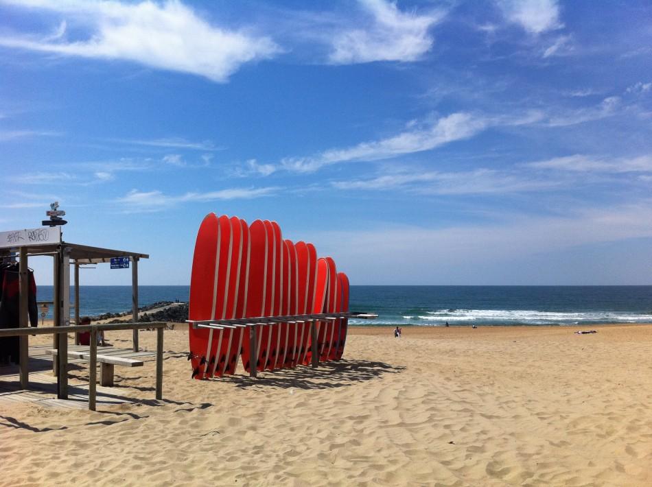 Team building : cours de surf sur la côte Basque