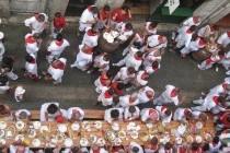 Un repas au coeur des Fêtes de Bayonne