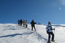 Balade en raquettes pour votre incentive dans les montagnes Basques
