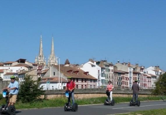 Mobilité douce : découvrez Bayonne en Segway